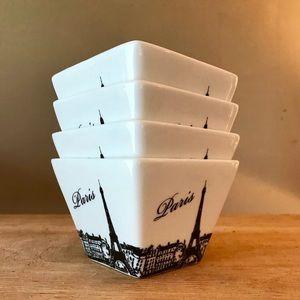 Set of Paris Bowls